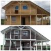 Покраска домов,   бань,   беседок и иных строений